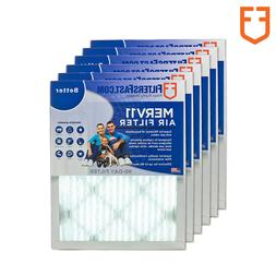 """1"""" Filters Fast Allergen Air and Furnace Filters MERV 11 6 P"""