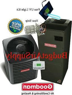3.5 TonGoodman A/C 16 Seer Air Conditioning System GSX160421