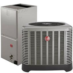 14 SEER RHEEM 3 TON CENTRAL AIR CONDITIONING CONDENSING UNIT