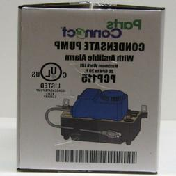 Air Conditioning Condensate Removal Pump With Safety Switch