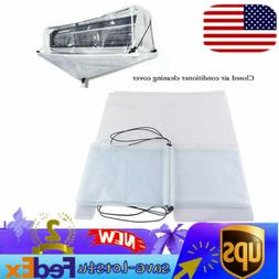 Closed Air Conditioner Washing Cleaning Cover for Split Type
