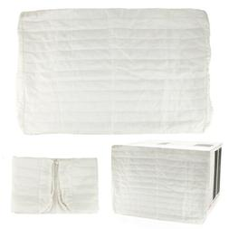 Indoor Air Conditioner Cover, Quilted Elasticized Covers, Pr