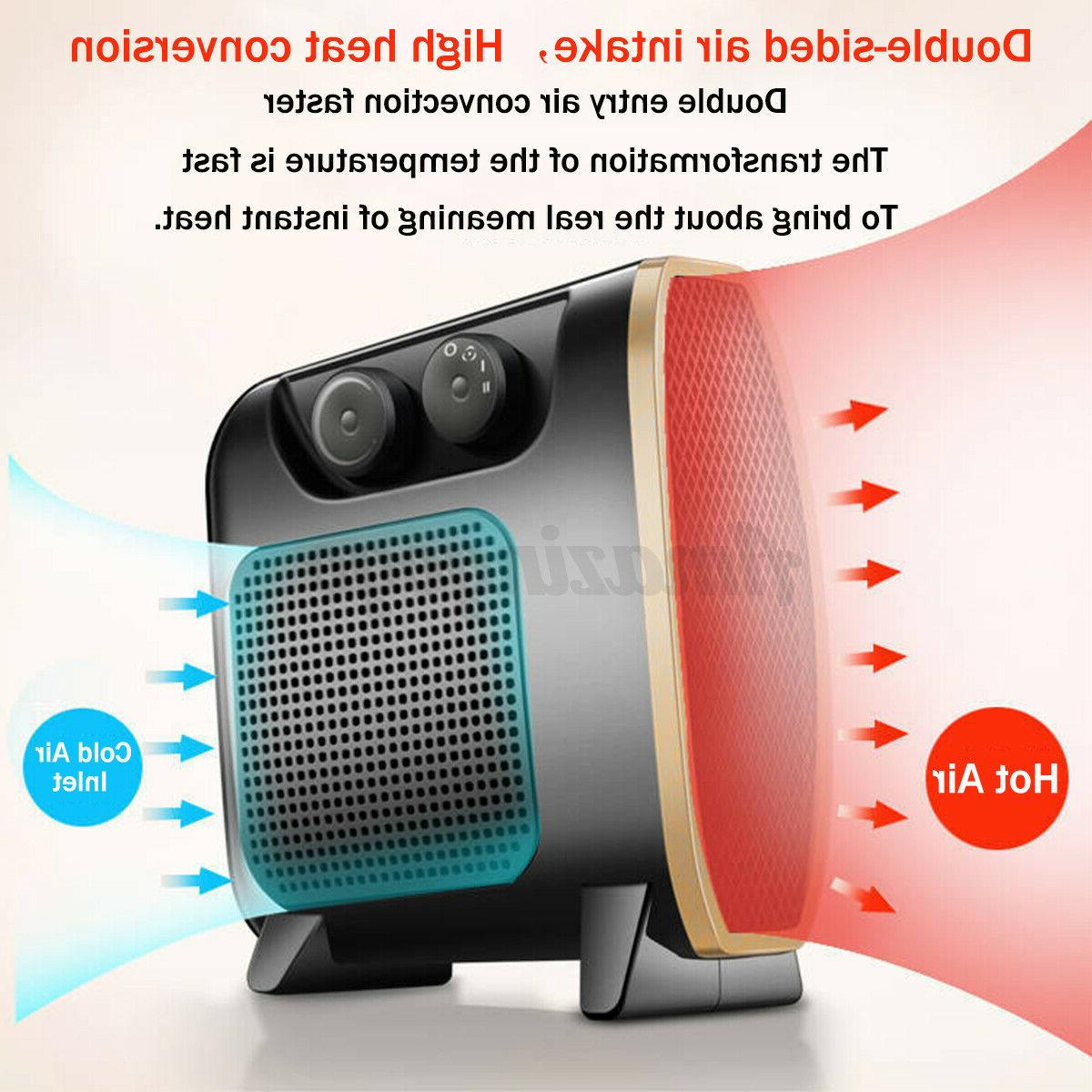 1500W Mini Space Heater Air Condition Home/Office