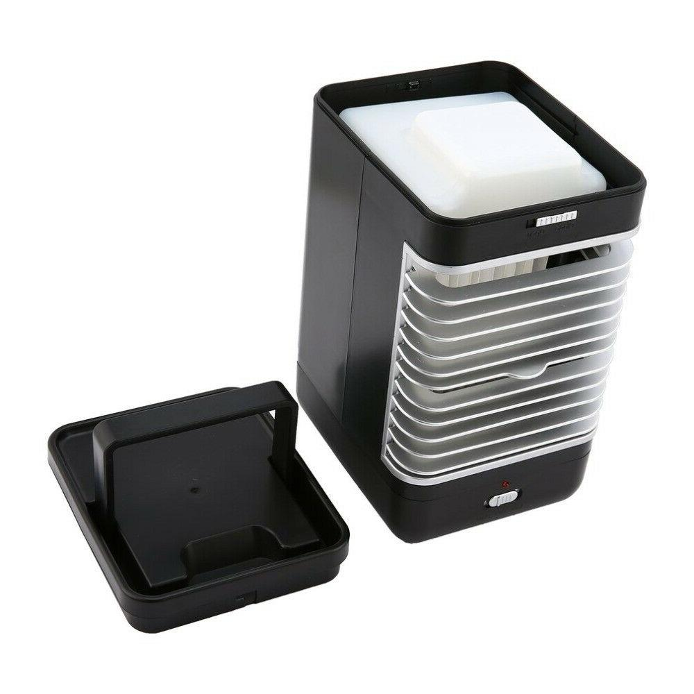 3 USB Portable Air Conditioner Conditioning Humidifier
