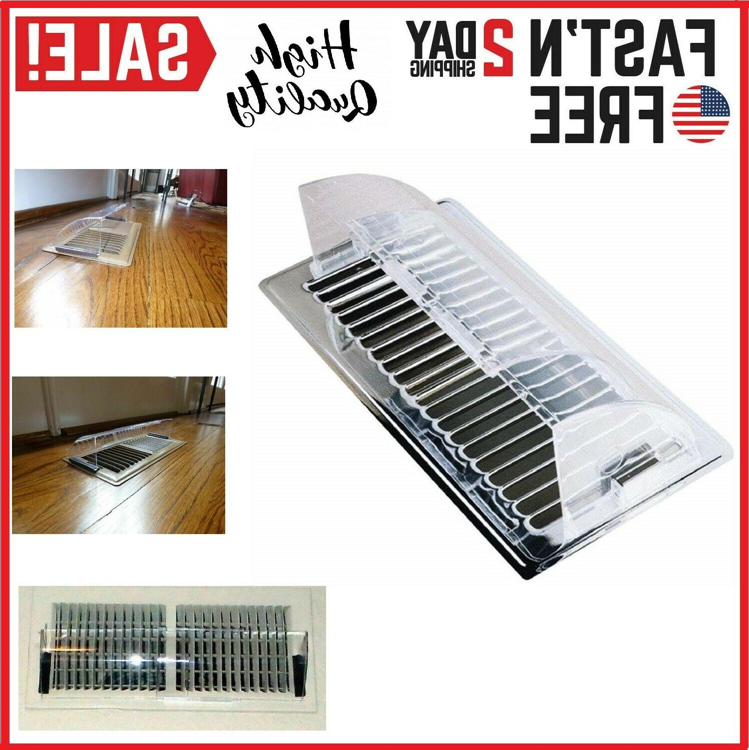 air conditioning vent deflector heat register cold