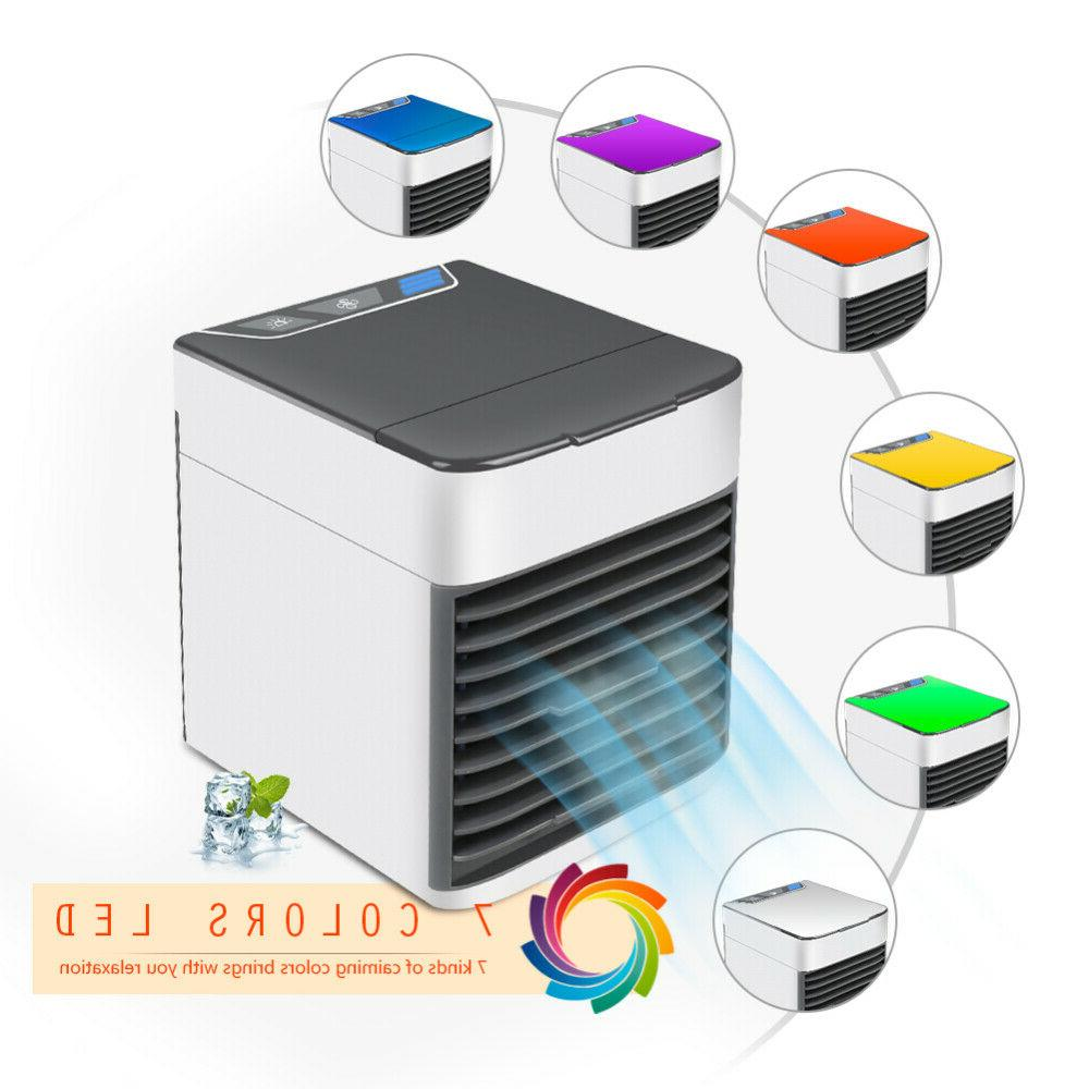 Mini Air Cooler Cooling Air Conditioner Mobile Fan Humidifie