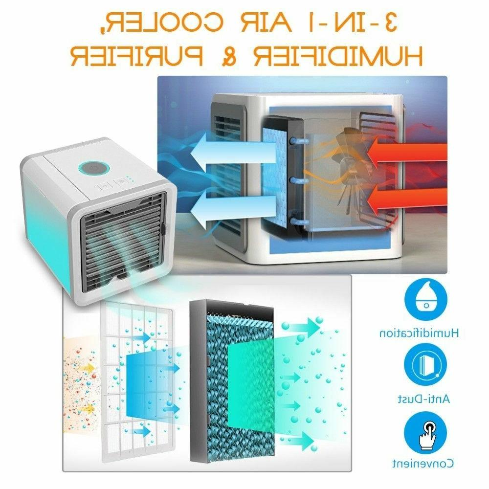 Portable Air Conditioner Personal Unit Fan Humidifier Purifier