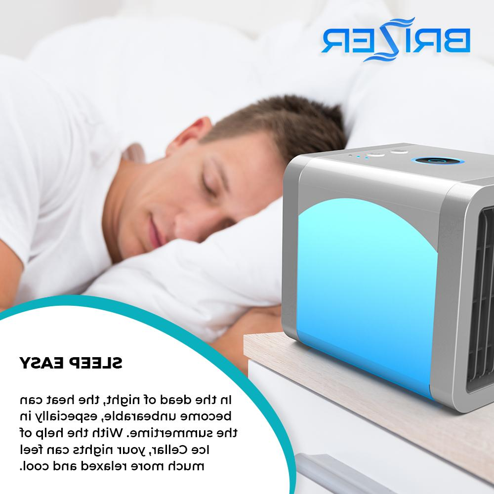 Portable Conditioner Fan Humidifier Purifier