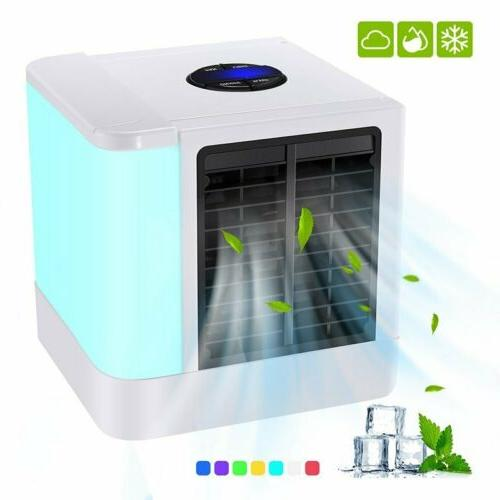 Portable LED Mini Air Conditioner 1 Cooling Fan Humidifier Purifier