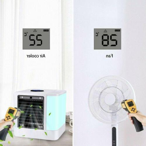 Portable LED Air in 1 Cooling Humidifier