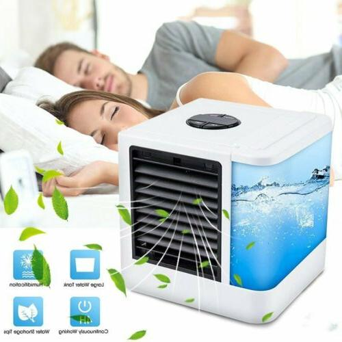 Portable LED Mini AC Air Conditioner 3 in 1 Unit Cooling Fan