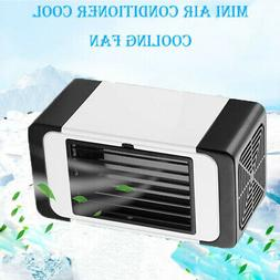 Mini Air Conditioning Fan Portable Low Noise Humidifier Home