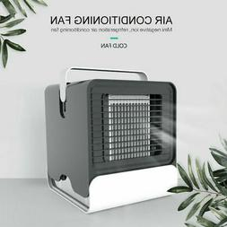 Mini Air Conditioning Unit Fan Low Noise Home Cooler Cold Wa