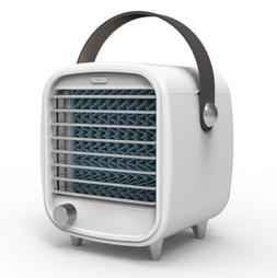 Mini Desk Table Cooling Fan - Portable Air Conditioning Fan,