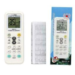 Universal A/C Remote Control Controller LCD for Air Con Cond